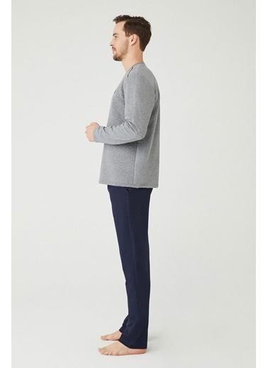 Mod Collection Erkek Pijama Takımı Mürdüm